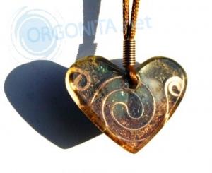 Corazón de Orgonite 7929