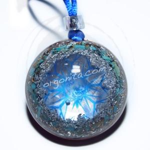GAIA BLUE - Orgonita 8414