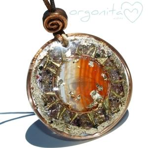 AGATA - Colgante de Orgonita 0250