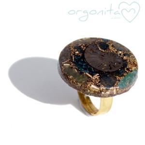 ANILLO Orgonita 4975 - PIEZA UNICA