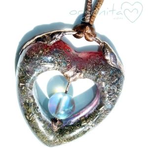 HEART - Colgante de Orgonita 1771