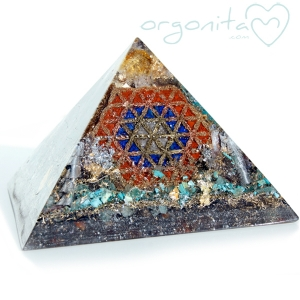 KEOPS - PIRAMIDE  de Orgonite 3377