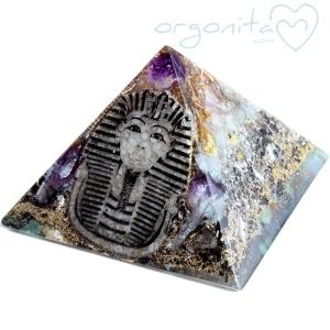 FARAÓN - Pirámide de Orgonita 3840 - PIEZA ÚNICA