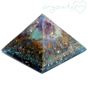 KEOPS - PIRAMIDE  de Orgonite 0780
