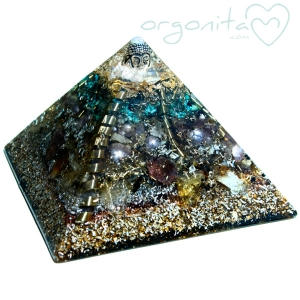 KHAILASH - PIRAMIDE  de Orgonite 9930